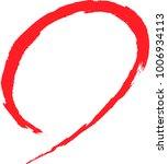brush character fballoon mark... | Shutterstock .eps vector #1006934113