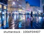 crowd of anonymous people... | Shutterstock . vector #1006934407