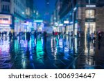 crowd of anonymous people... | Shutterstock . vector #1006934647