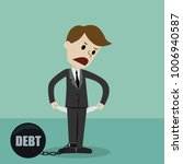 businessman standing and... | Shutterstock .eps vector #1006940587