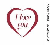 recognition of love   Shutterstock .eps vector #1006948297