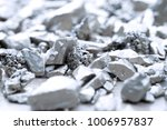 lump of silver or platinum on a ...   Shutterstock . vector #1006957837