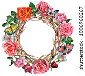 Forest Twig Branches Wreath In...