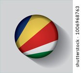 button flag of seychelles in a... | Shutterstock .eps vector #1006968763