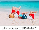 father and little son and... | Shutterstock . vector #1006985827