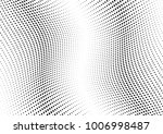 abstract halftone wave dotted... | Shutterstock .eps vector #1006998487