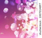 vector abstract bokeh...   Shutterstock .eps vector #1007014897