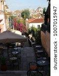 tavern in plaka   district of...   Shutterstock . vector #1007015947