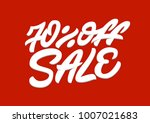 70   off sale. premium handmade ... | Shutterstock .eps vector #1007021683
