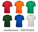 A Set Of Six Color Cotton T...