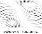 abstract halftone wave dotted... | Shutterstock .eps vector #1007030857