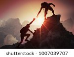 help and assistance concept.... | Shutterstock . vector #1007039707