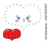 vector illustration  numbers... | Shutterstock .eps vector #1007049337
