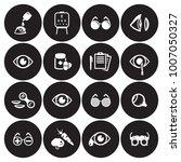 optometry icons set | Shutterstock .eps vector #1007050327