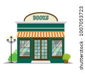 bookstore. book shop icon in... | Shutterstock .eps vector #1007053723