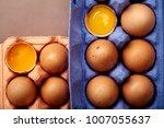 horizontal closeup shot with... | Shutterstock . vector #1007055637