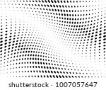 abstract halftone wave dotted... | Shutterstock .eps vector #1007057647