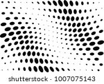 abstract halftone wave dotted... | Shutterstock .eps vector #1007075143