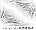 abstract halftone wave dotted... | Shutterstock .eps vector #1007075167