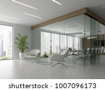 interior of reception and... | Shutterstock . vector #1007096173