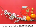 chinese new year festival   red ... | Shutterstock . vector #1007113867