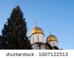 dormition church of moscow... | Shutterstock . vector #1007122513
