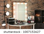 decorative cosmetics and tools... | Shutterstock . vector #1007152627