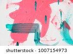 fragment of original abstract... | Shutterstock . vector #1007154973