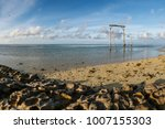 view of the beach and volcanic... | Shutterstock . vector #1007155303