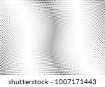 abstract halftone wave dotted... | Shutterstock .eps vector #1007171443