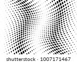 abstract halftone wave dotted... | Shutterstock .eps vector #1007171467