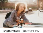 portrait of a beautiful young... | Shutterstock . vector #1007191447