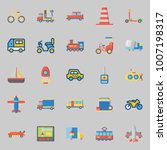icons set about transportation. ... | Shutterstock .eps vector #1007198317