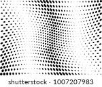 abstract halftone wave dotted... | Shutterstock .eps vector #1007207983