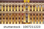 vintage architecture classical... | Shutterstock . vector #1007211223