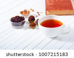 herbal tea  brown sugar ... | Shutterstock . vector #1007215183