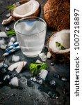 healthy food concept.  fresh...   Shutterstock . vector #1007218897