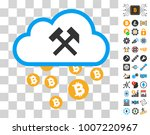 bitcoin cloud hammers...