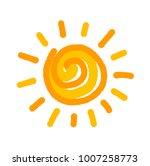 sun symbol illustration   Shutterstock .eps vector #1007258773