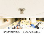 sprinkler  fireplace in the... | Shutterstock . vector #1007262313