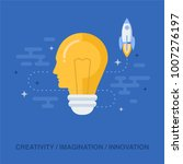 flat design vector illustration ... | Shutterstock .eps vector #1007276197