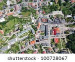 Aerial View Of Otmuchow City...
