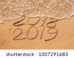 new year 2019 is coming concept ... | Shutterstock . vector #1007291683