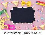 purim celebration concept ... | Shutterstock . vector #1007306503