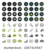 internet marketing icons   seo  ...   Shutterstock .eps vector #1007314567