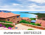 scenery with houses and capo... | Shutterstock . vector #1007332123