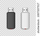 vector isolated usb pen drives  ...   Shutterstock .eps vector #1007337517
