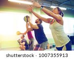fitness  sport and exercising... | Shutterstock . vector #1007355913
