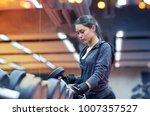 fitness  sport  exercising ... | Shutterstock . vector #1007357527