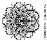 mandalas for coloring book.... | Shutterstock .eps vector #1007408557